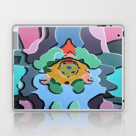 Standing  Laptop & iPad Skin