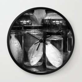 Jarred Wall Clock