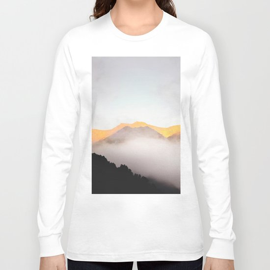 Hidden Treasure Mountain Long Sleeve T-shirt