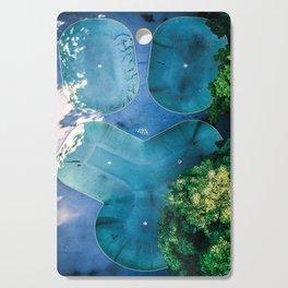 Skatepark - Aerial Photography Cutting Board