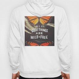 Wild & Free Butterflies Hoody