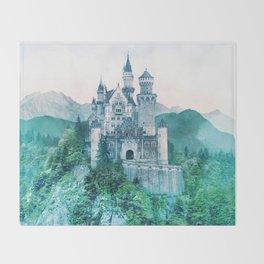 Hilltop Castle Throw Blanket