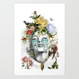 Vanitas Marilyn Art Print