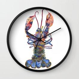 Kaliedoscope Lobster Wall Clock