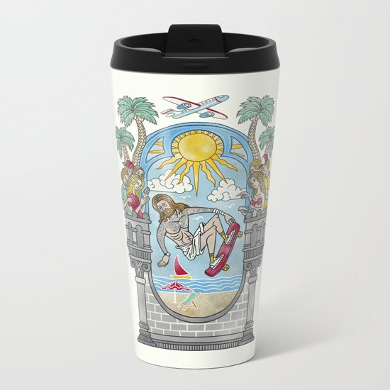 The Lord of the Board Metal Travel Mug