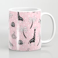 safari Mugs featuring Safari by Sian Keegan