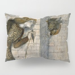 "Edward Burne-Jones ""Theseus and the Minotaur in the Labyrinth"" Pillow Sham"