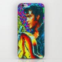 elvis presley iPhone & iPod Skins featuring Elvis Presley by Kevin Rogerson