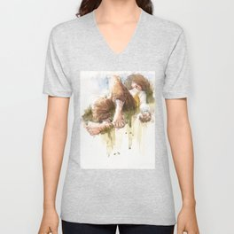 Countryside Nap Unisex V-Neck