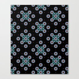 pattern night relaxe Canvas Print