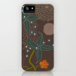 jungle delights chocolate iPhone Case