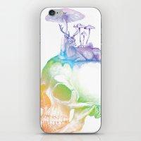 mushroom iPhone & iPod Skins featuring Mushroom by dogooder