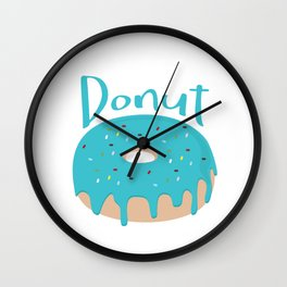 Life is short - Eat more Donuts Wall Clock