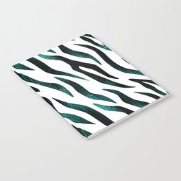 Here Kitty Kitty - Teal Notebook