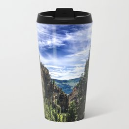 Hanging Lake Trail Metal Travel Mug