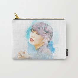 Blossom Girl Sketch Carry-All Pouch