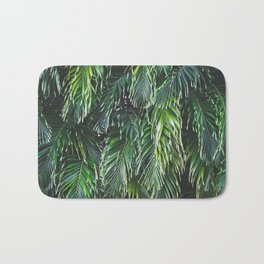 Tropical Foliage Bath Mat