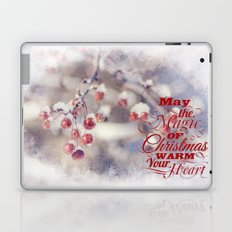 Frosted Christmas Laptop & iPad Skin