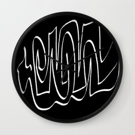 Black and white one Wall Clock