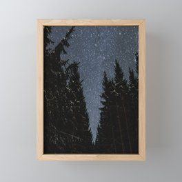 Night Walks | Nature and Landscape Photography Framed Mini Art Print