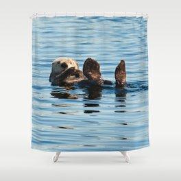 Sea Otter Shower Curtain