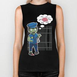 Zombie Police Biker Tank