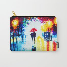 Tardis Watching Romantic Night Carry-All Pouch