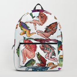Reverse Mermaids Backpack