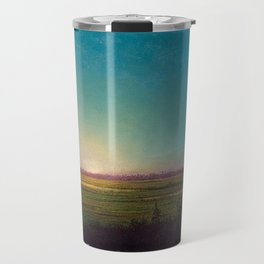 Twilight in the Florida Everglades by Martin Johnson Heade Travel Mug