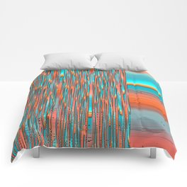 Interplay Of Warm And Cool Comforters