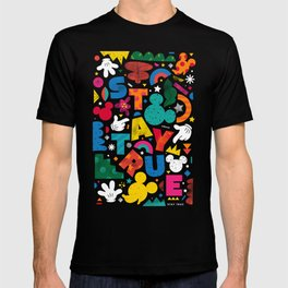 """""""Your True Shapes and Colors - Mickey Mouse"""" by Happyminders T-shirt"""