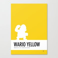 No43 My Minimal Color Code poster Wario Canvas Print