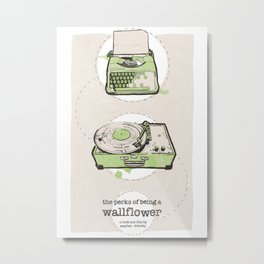 Perks Of Being A Wallflower Limited Edition Movie Poster Print  Metal Print