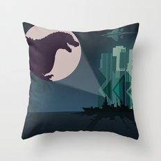Payback Time  2014 godzilla  Throw Pillow