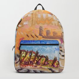 Beach Bums Welcome Backpack