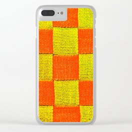 Canvas Straps Clear iPhone Case