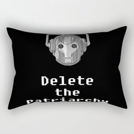 Delete the Patriarchy Rectangular Pillow