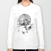 clear Long Sleeve T-shirts featuring crystal clear by Chanda Stallman