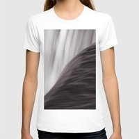 waterfall T-shirts featuring Waterfall by Alexandra Str
