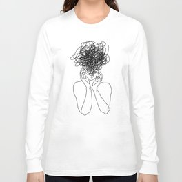 Migraine - White Long Sleeve T-shirt