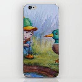 """Ducky Dialogue"" iPhone Skin"