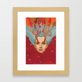 The Devoted Framed Art Print