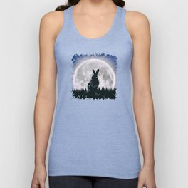 The Hare's Moon Unisex Tank Top
