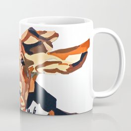 Basset Hound Flying Ears Portrait Coffee Mug