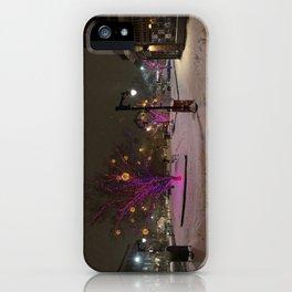 Longfellow Square Christmas Lights (3) iPhone Case