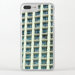 Tel Aviv - Crown plaza hotel Pattern Clear iPhone Case
