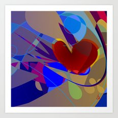 Complexities of Love Art Print