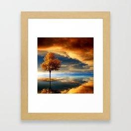 Autumn Dream Framed Art Print