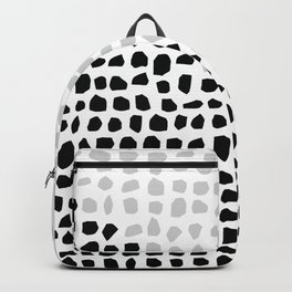 Stones // Black and white 2 Backpack