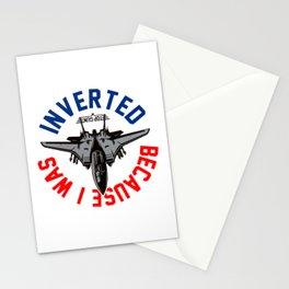 Because I Was Inverted Merch Stationery Cards